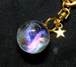 The aurora ball keychain by NagiSpider