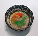 Goldfish - 3D craft painting #5 by NagiSpider
