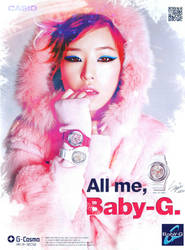 pink baby G