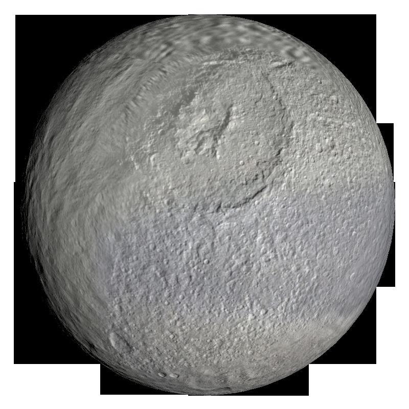 tethys moon of saturn by jcpag2010 on deviantart