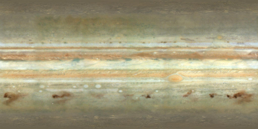 Jupiter Texture Map with SL9 Impacts by jcpag2010 on DeviantArt