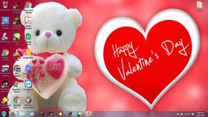 Windows 7 Desktop: Happy Valentine's Day