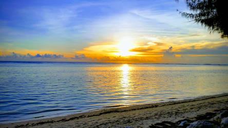 Ocean Sunset by jcpag2010
