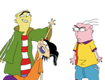 Ed Found Double D's Hand