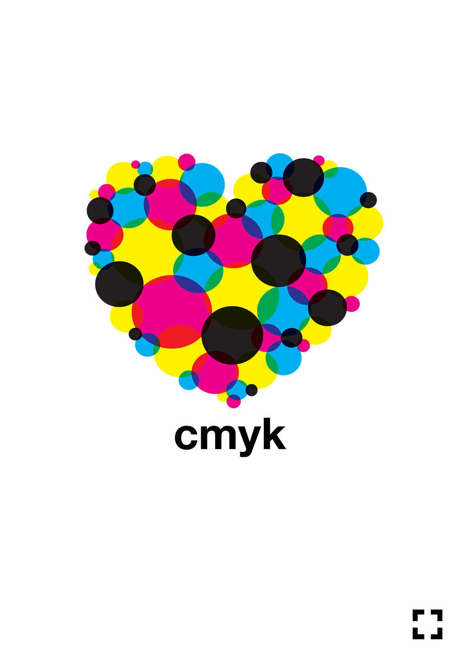 I Heart CMYK by PrecinctOne