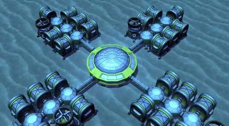 Sample underwater colony scenes