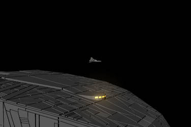 Viper and Battlestar by bobaverill