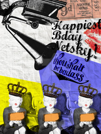 Happiest Birthday Netsky! by helloraadio