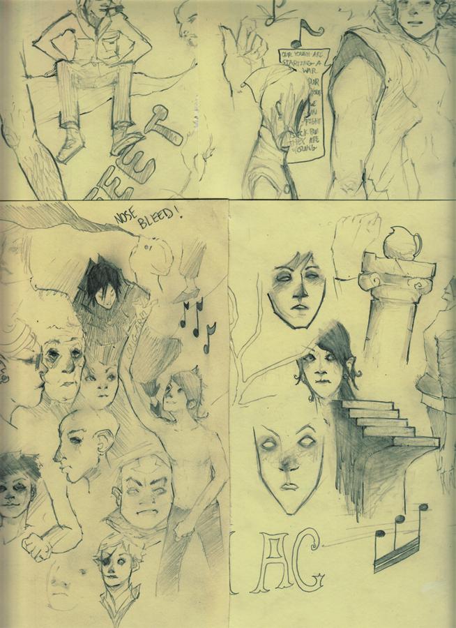 sketchdump 2 by Izaru