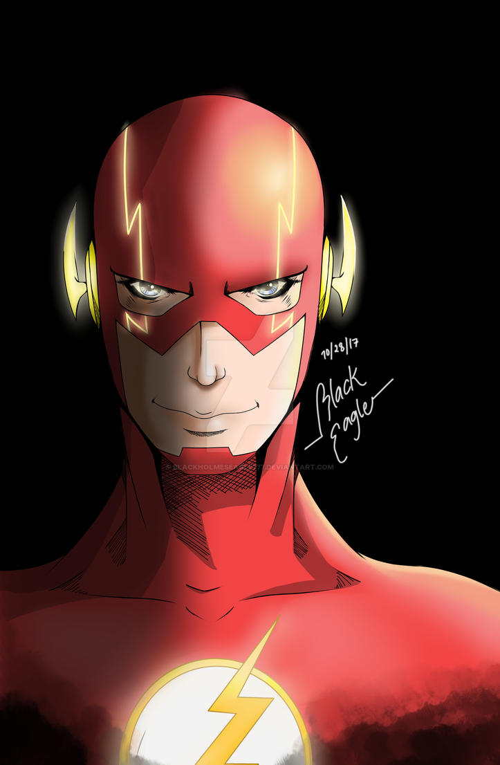 The Flash by BlackHolmesEagle777