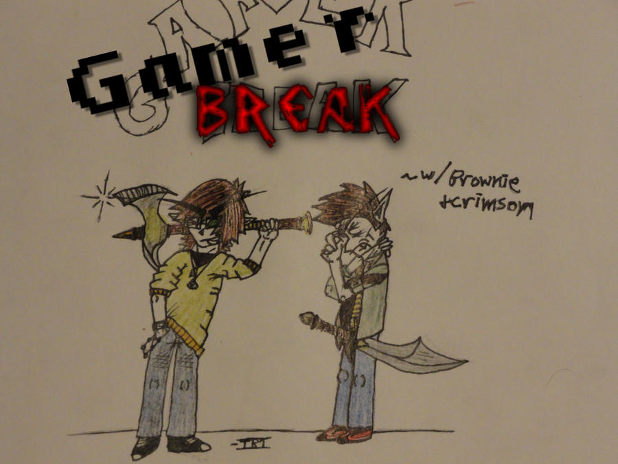 Gamer BREAK poster/ ad by teambrownie1
