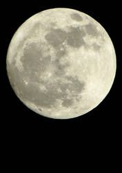 The Moon, March 7th 2012 by e-s-d
