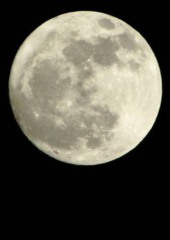 The Moon, March 7th 2012