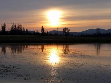 Dawn at Leighton Lake