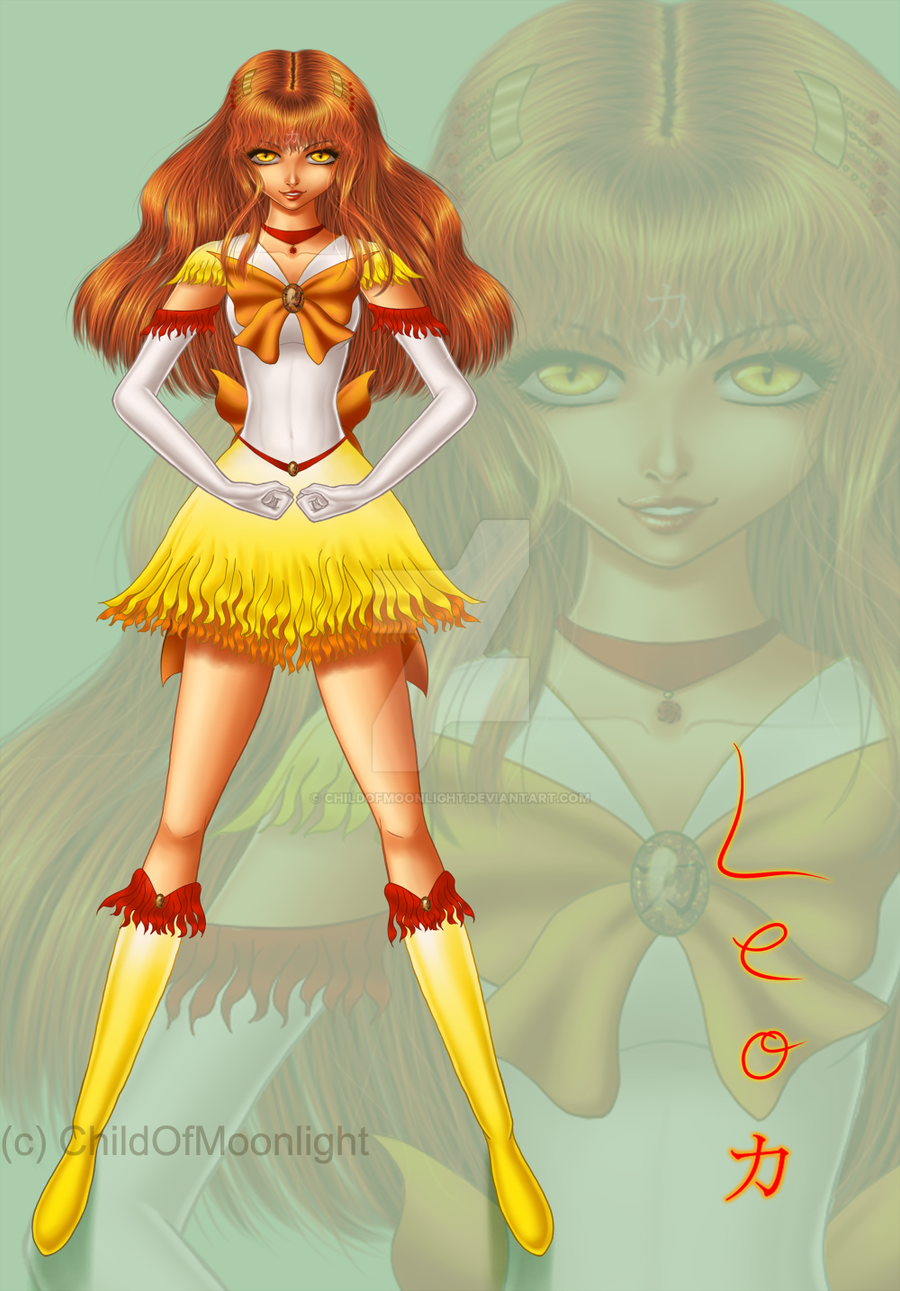 Sailor Zodiac Leo by ChildOfMoonlight on DeviantArt