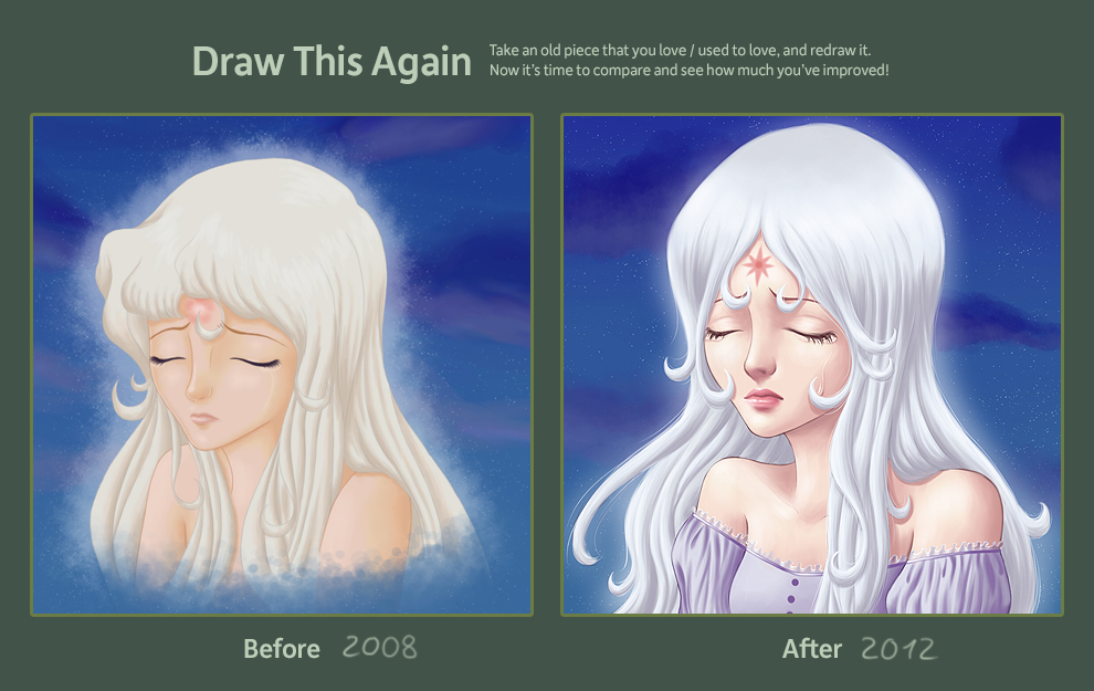 Draw this again: Amalthea 2012 by ChildOfMoonlight