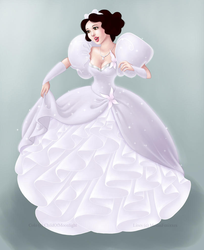 Snow White As Giselle II By ChildOfMoonlight On DeviantArt