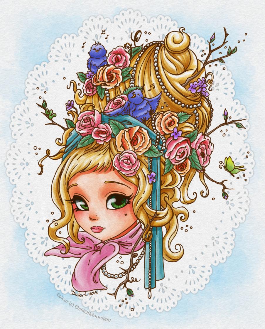 Spring Maiden by ChildOfMoonlight