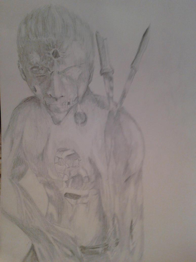 Random Zombie Dude by FlameBlood2