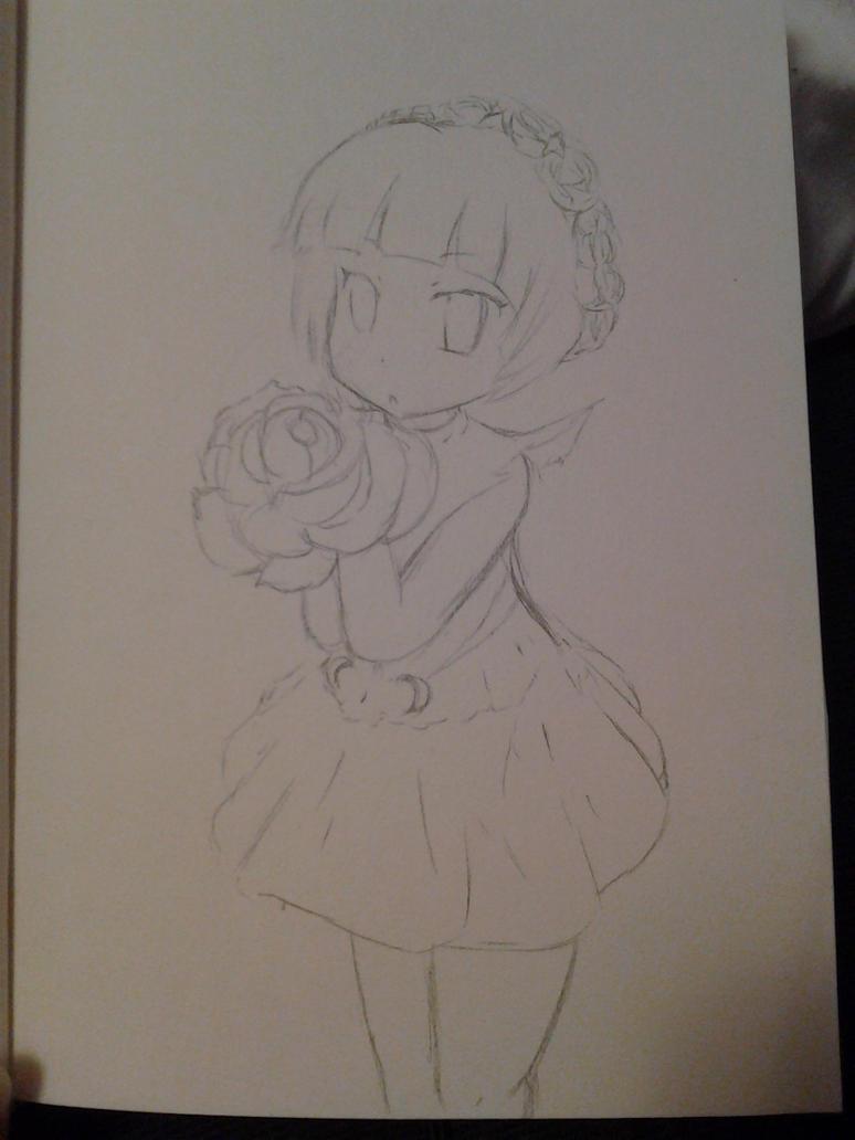 Flower Girl by FlameBlood2