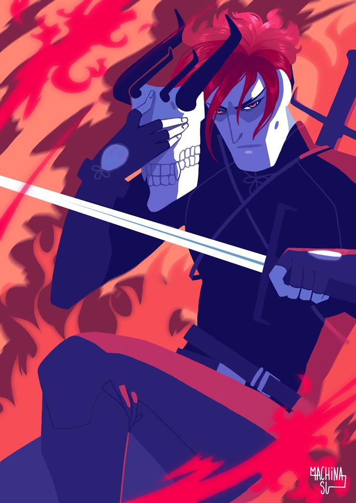 Fire warrior by Machina-Su