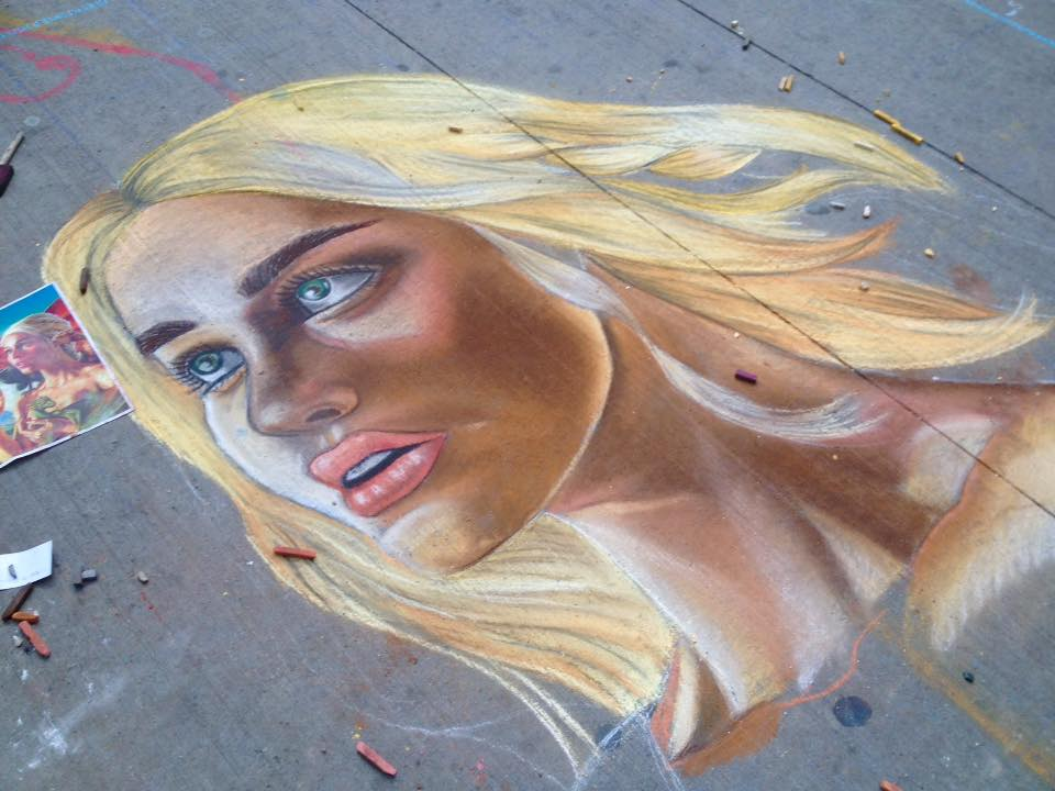Khaleesi with Chalk by CatChalks