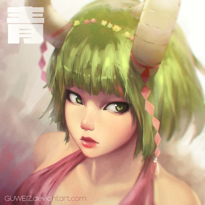 Green by GUWEIZ
