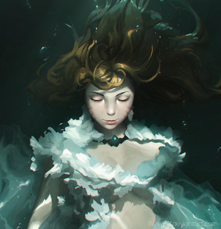 Underwater~ by GUWEIZ on DeviantArt