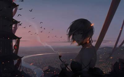 Metropolis by GUWEIZ