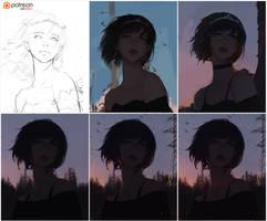 Firefly Process by GUWEIZ