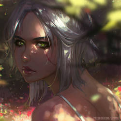 Ciri by GUWEIZ