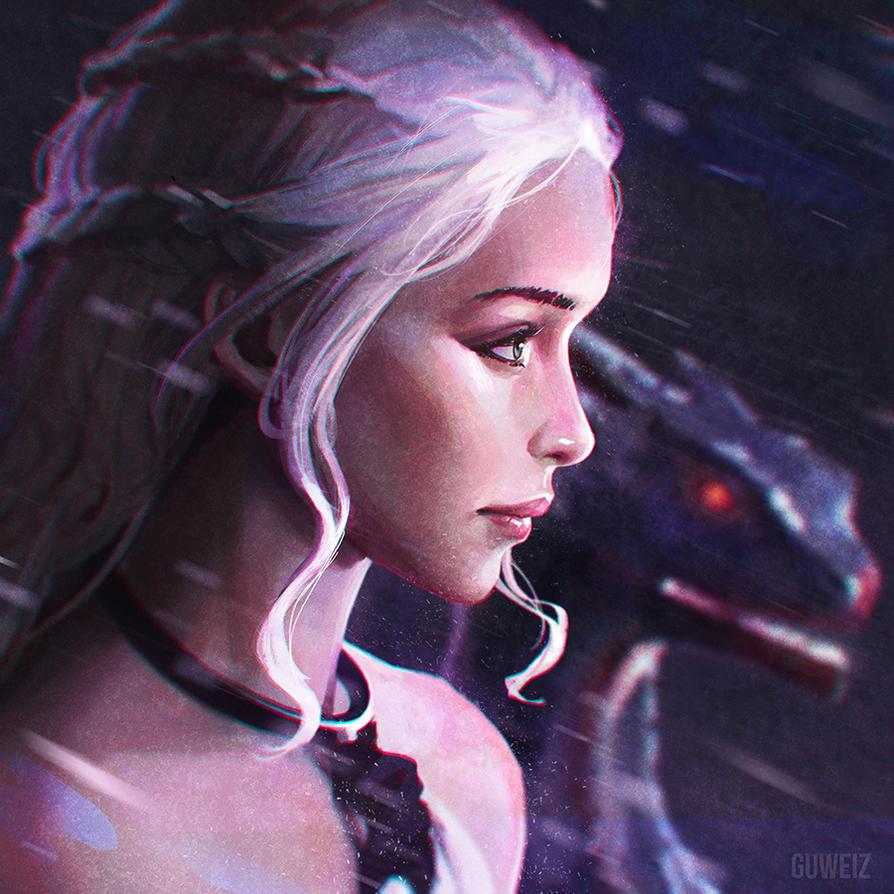 Daenerys! by GUWEIZ