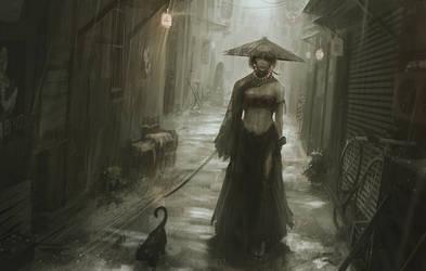 Alley by GUWEIZ