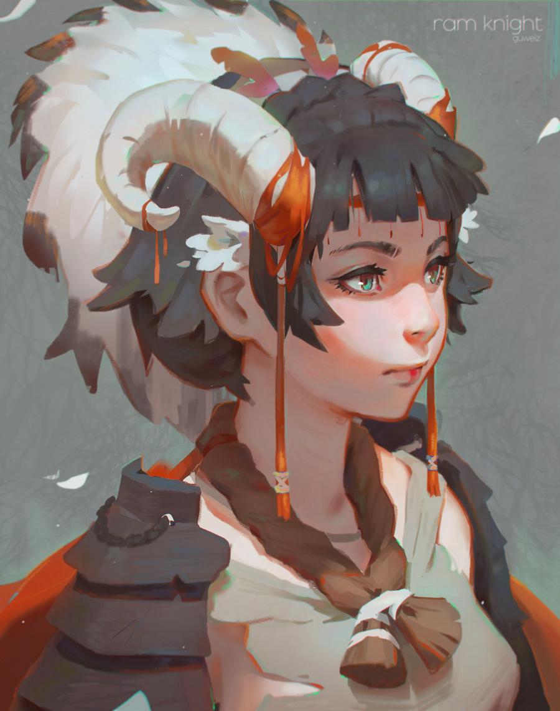 Merunia Tiefling Monk Myth Weavers