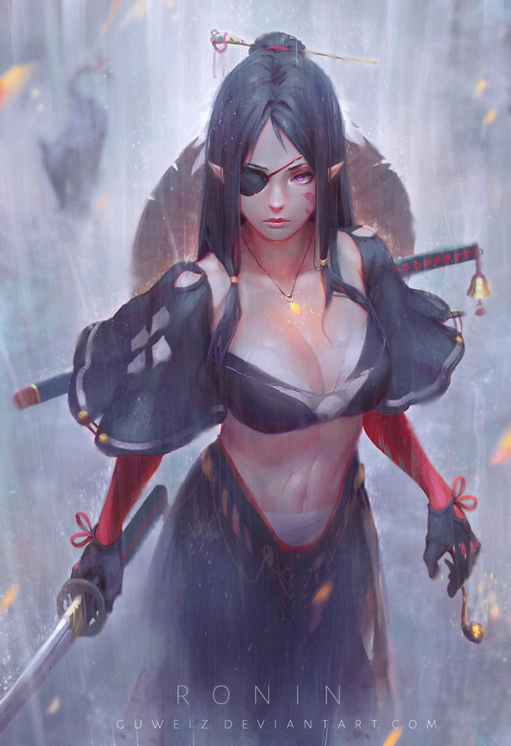 Ronin By Guweiz On Deviantart