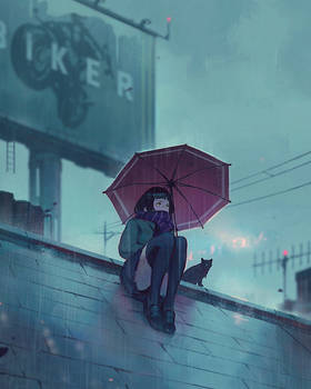 Rooftop~ by GUWEIZ