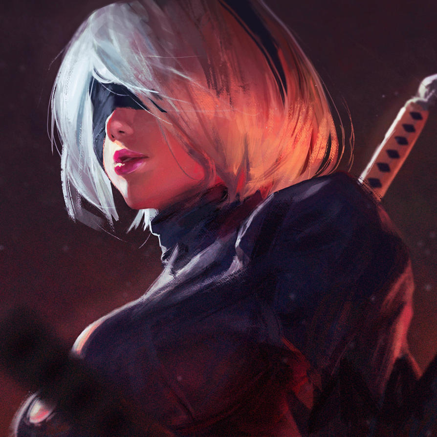 Premise Indicator Words: 2B By GUWEIZ On DeviantArt