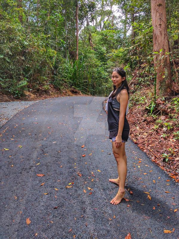 Barefoot Hike 03 By Jorahtheandal2015