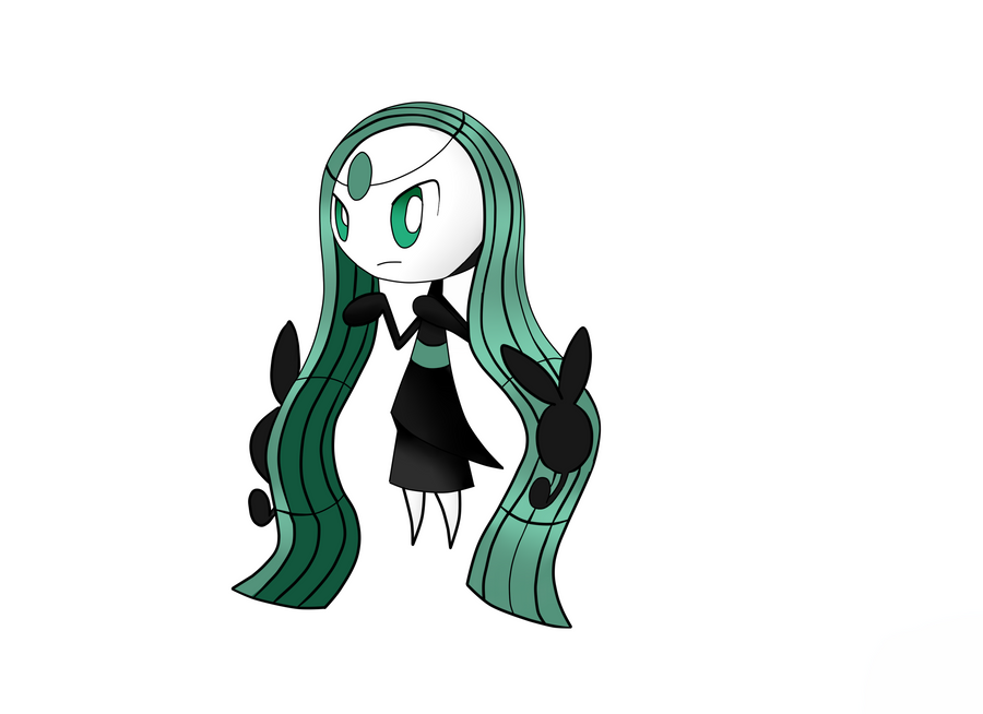 Meloetta Somber Forme by Superior-Serperior on DeviantArt