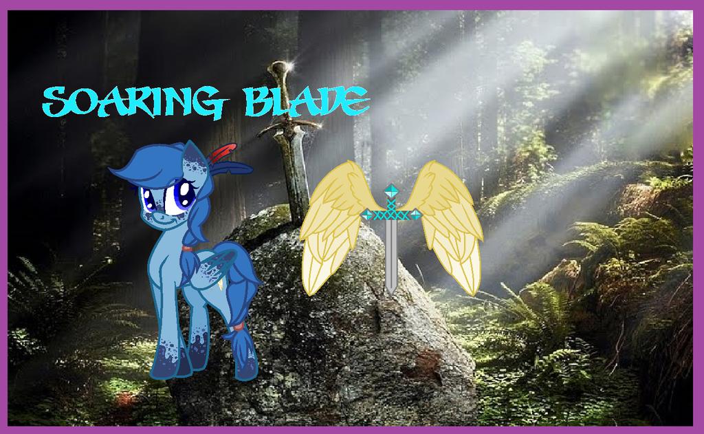 Soaring Blade new design by Andermarek107