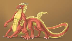 Dragontaur TF by Windiedragon