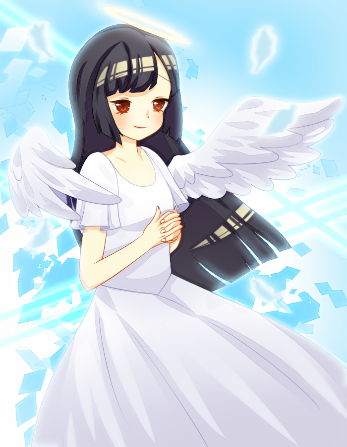 Cleofe Angel Commission By Lulla Dream by Harukiwind