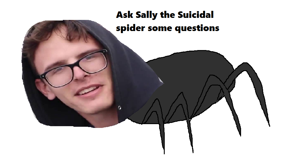 Ask Sally The Spider by Yetiisafag