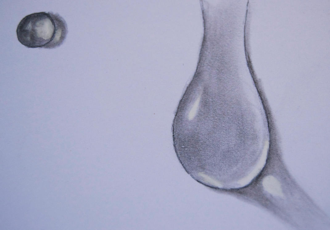 Water Drop Drawing WaterDrops Drawing by