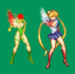 Sailor Moon Close Standing Punch Second Frame