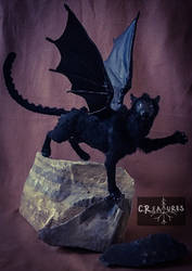 Black Hell Cat C.R.EATURE  by CReature22