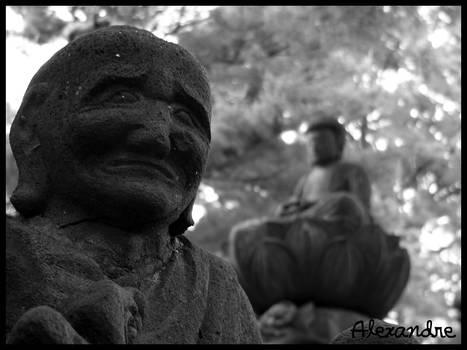 Buddha Is Behind You