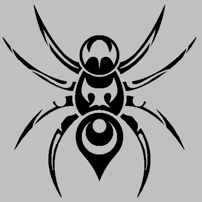 Tribal Spider for Starfire350 by blahguy0 on DeviantArt