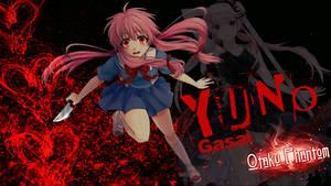 Gasai Yuno Mirai Nikki Blood Wallpaper by Joe