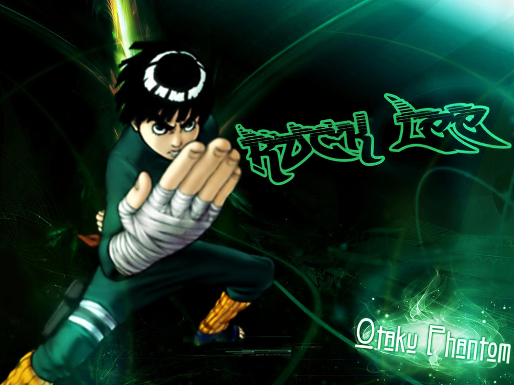 Best Wallpaper Naruto Deviantart - rock_lee_green_wallpaper___naruto_anime___by_joe_by_paulo22s2-d5bpy1r  2018_366112.jpg
